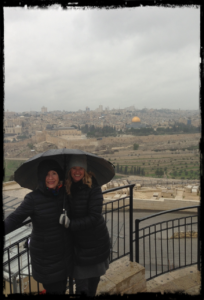 mount of olives with grandma karen
