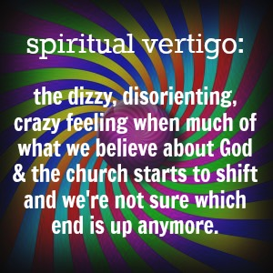 spiritual vertigo working definition