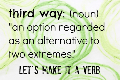 the third way verb
