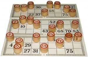 image of bingo game
