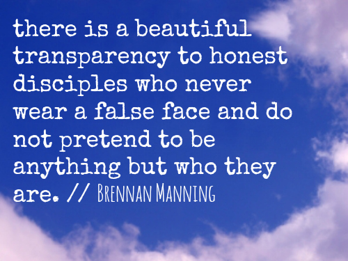brennan manning beautiful transparency