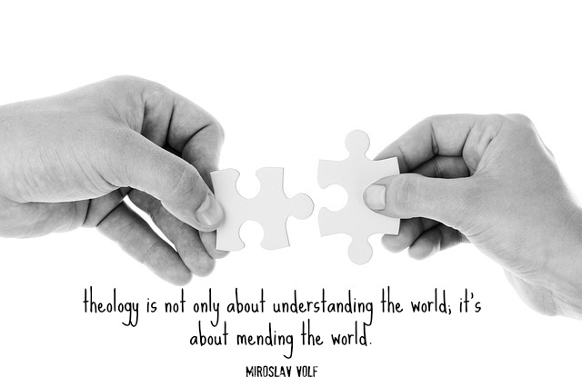 theology is not only about understanding the world